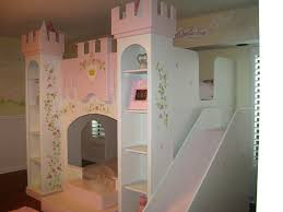 Dollhouse Bed For Girls by Castle Beds For Girls Princess Mural Murals Kids Mural