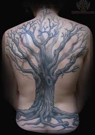 tree on back s tatting