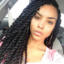 twist hairstyles for black women whimsical senegalese twists hairstyles 2017 blackhairlab com