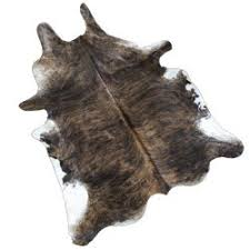 teskey u0027s saddle shop large brindle cow hide rug
