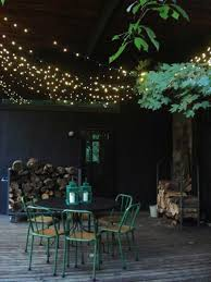 Hanging String Lights by Hanging Outdoor Led String Lights U2014 All Home Design Ideas