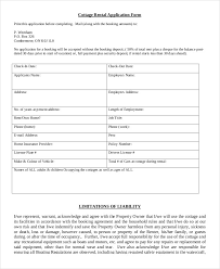 rental application form 9 free sample example format free