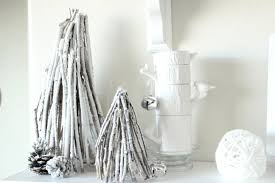 easy christmas craft diy frosted trees the wood grain cottage