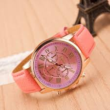 leather bracelet girl images Pink watch leather watch bracelet watch vintage watch retro jpg