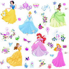 7 best images of printable princess stickers disney princess disney princess wall decals