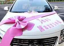 Wedding Car Decorations Wedding Car Decoration Kit Ebay