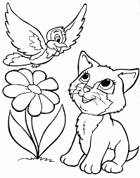 coloriage de chats 1001 animaux