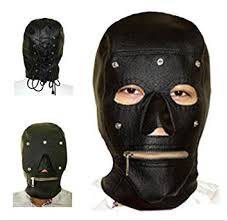 leather mask sm masks for men leather mask with