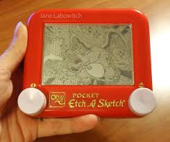 created charizard on an etch a sketch as a gift for my best friend