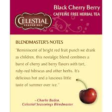Little Berry Amazon Com Celestial Seasonings Herbal Tea Black Cherry Berry