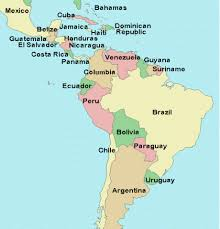 map of south america and mexico map of south america including mexico major tourist