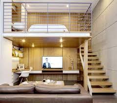 bureau mezzanine lit mezzanine escalier lit mezzanine avec bureau petit sacjour avec