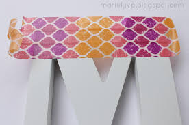 Washi Tape Designs by We Read Diy Washi Tape Letter And Key Covers