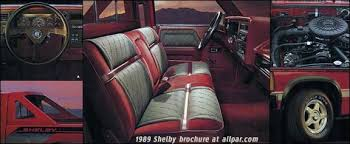 dodge shelby dakota 1989 shelby dakota rodded trucks