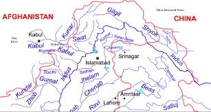 Rivers In China Map Center For Afghanistan Studies University Of Nebraska Omaha