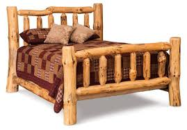 Rustic Log Bedroom Furniture Amish Log Bedroom Furniture