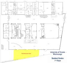 Student Center Floor Plan by Licensed Areas Hospitality U0026 Retail Services