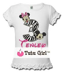 mickey mouse birthday shirt minnie and mickey mouse zebra birthday shirt or onesie