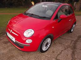 fiat 500 hatchback used red fiat 500 for sale hertfordshire