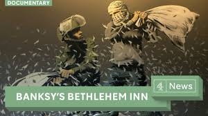 Banksy S Top 10 Most Creative And Controversial Nyc Works - banksy documentary welcome to the banksy art hotel in bethlehem