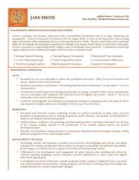 Resume Samples Sales And Marketing by Sales Expert Resume