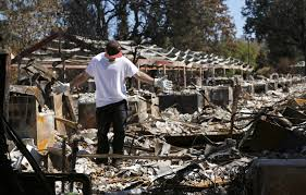 Wildfire Anderson Ca by Wildfire Deaths Now At 5 As Evacuees Face Weekend Heat Wave La Times