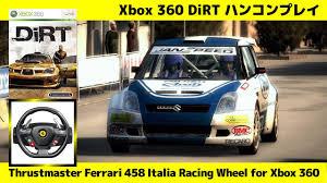 458 italia wheel for xbox 360 10 dirt 1 thrustmaster 458 italia racing wheel for xbox