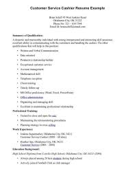 Retail Cashier Job Description For Resume by Commodity Customer Service Representative Sales Resume Duties Of