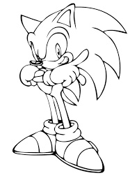 coloring pages sonic sonic the hedgehog coloring pages printable