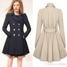 2017 new fashion women korean wool coat ladies designer long