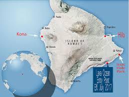 Map Of Hawaii Island Big Island Lava Map 3 Firefall Photography