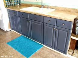 Painting Kitchen Cabinets Blue Interior Blue Grey Painted Kitchen Cabinets For Voguish Dark