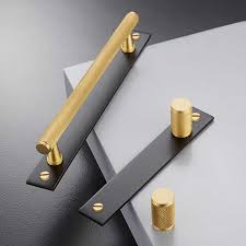 brass and black kitchen cabinet hardware gold black knurled textured simple kitchen cabinet knobs and handles drawer pulls bedroom knobs brass t bar cabinet hardware