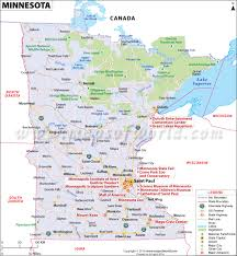 United States Map With Cities And States by Minnesota Map Map Of Minnesota Mn Map