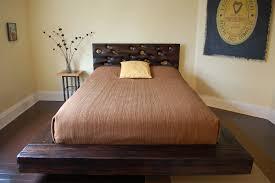 king size platform bed circle wall decal sticker big pattern bed