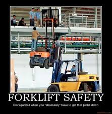 Warehouse Meme - forklift fails