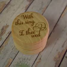 with this ring i thee wed wedding ring box with this ring i thee wed wooden trinket
