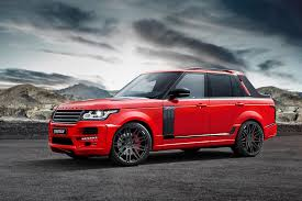 modified range rover range rover pickup by startech photo gallery autoblog