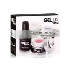 gellux luxury professional gel nail polish uv u0026 led hard gel kit