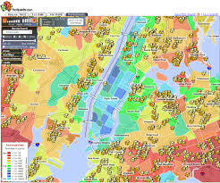 Map Of Manhattan New York City by Random Notes Geographer At Large Unconventional Yet Informative