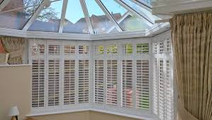 conservatory shutters made to measure wooden blinds for conservatories