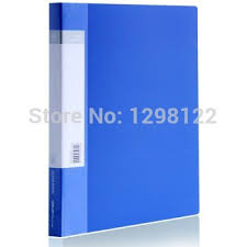 5104 aba series a4 40 sheets clear book display book data book