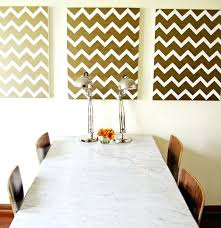 home decor stores london dining room wall decor ideas diy view in gallery gold chevron wall