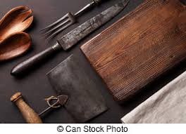 antique kitchen knives stock photography of vintage kitchen knives collage wood