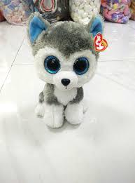 2015 ty beanie boos big eyes small unicorn husky plush toy