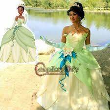 Frog Halloween Costumes Custom Tiana Tiana Dress Cosplay Costume Princess