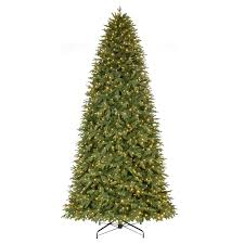 home accents 12 ft pre lit led monterey fir set