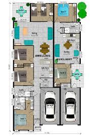 Dual Occupancy Floor Plans Plans Dual Income Properties