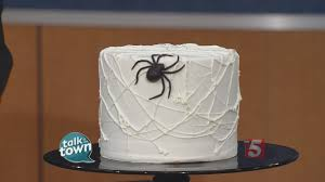 how to make a halloween spider cake youtube