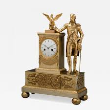 Mantel Clocks Jean Baptiste Dubuc Important